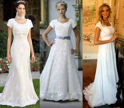 e9ccecaf403 10 Ways To Customized LDS Wedding Dresses - A Dressy Occasion
